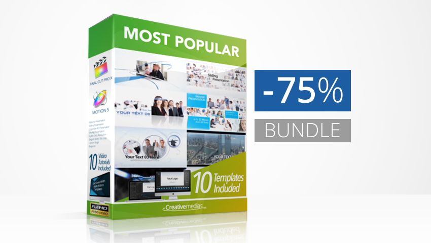 Most Popular Templates Bundle