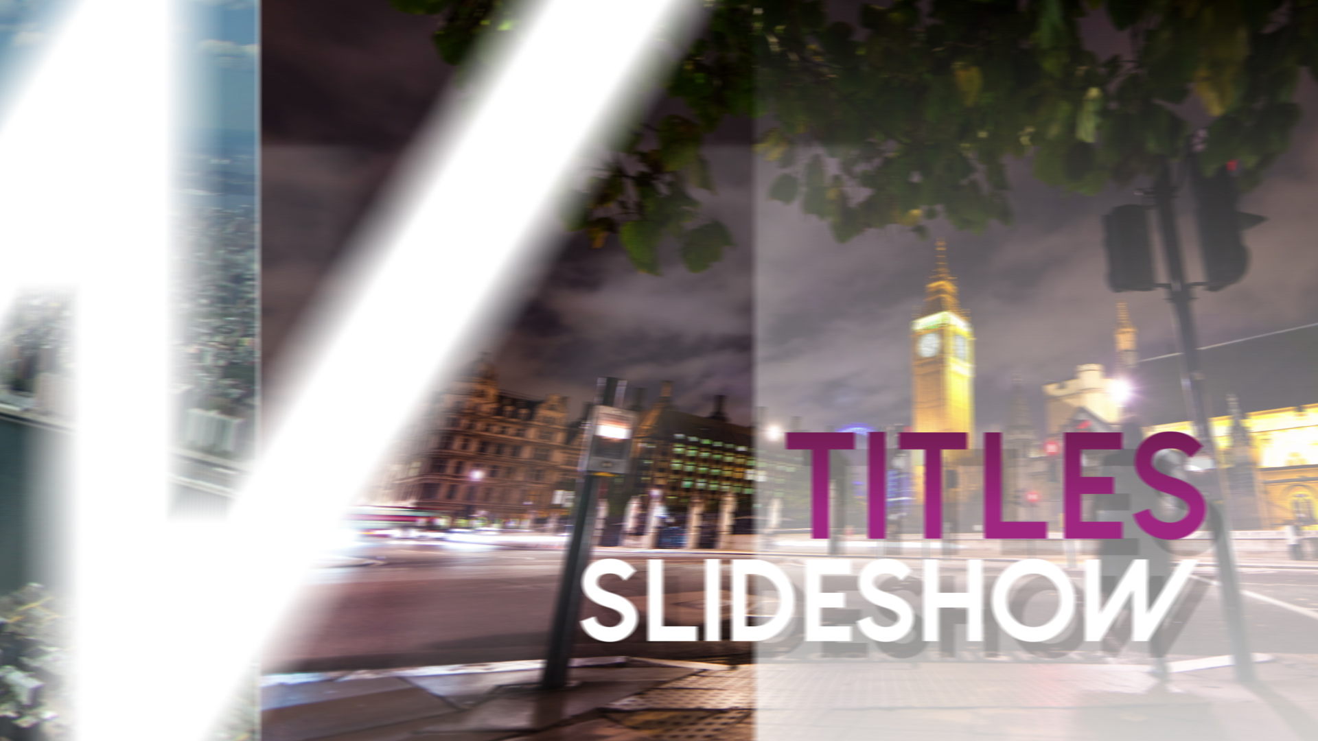 Titles slideshow apple motion 5 template for Motion 5 title templates