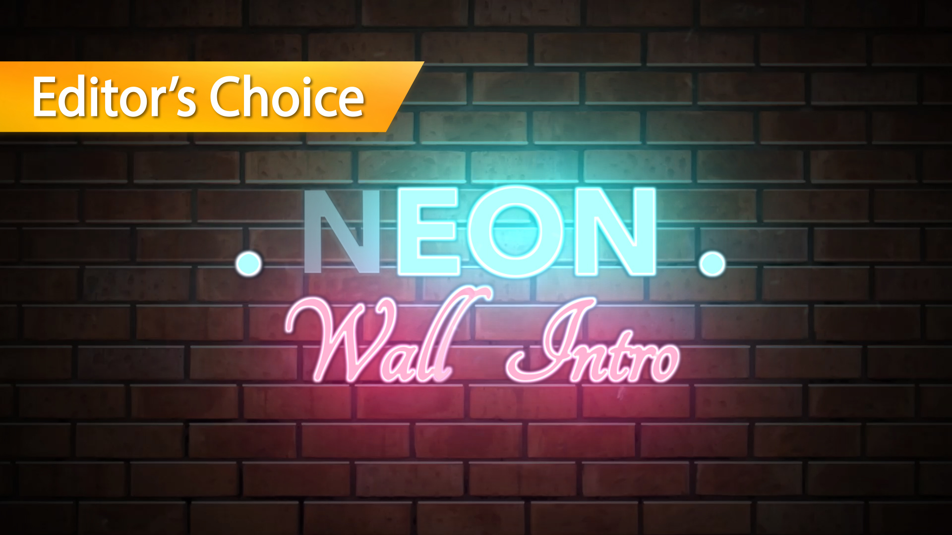 Neon wall title apple motion 5 template for Motion 5 title templates